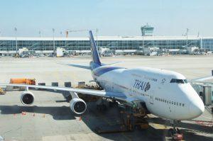 Flug mit Thai-Airways