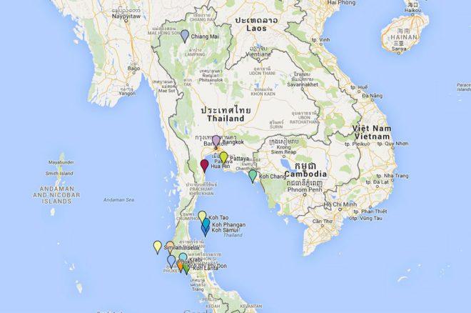 Reiseziele in Thailand